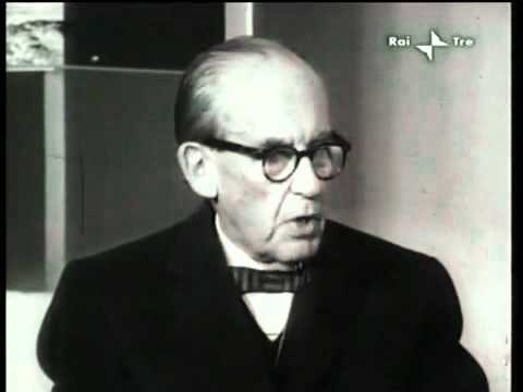 Walter Gropius intervistato da Emilio Garroni (1961)