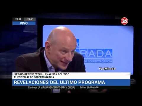 Canal 26 -La Mirada con Roberto Garcia 19- Noviembre