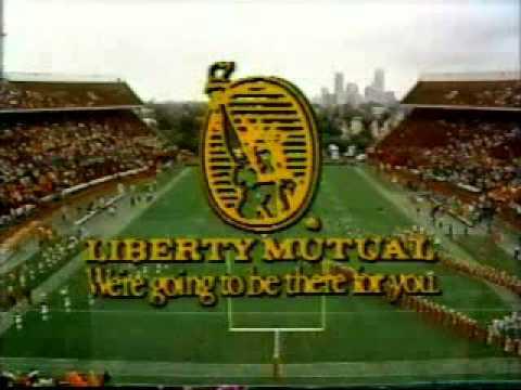 CBS College Football Intro - November 1984