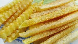 Картофель фри Быстро просто и вкусно!!!