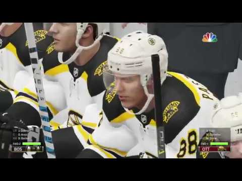 NHL 19 - Boston Bruins Vs Ottawa Senators Gameplay - NHL Season Match Dec 9, 2018