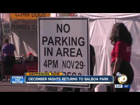 December Nights in Full Swing at Balboa Park
