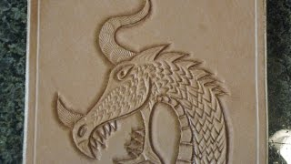 Download Tooling a leather dragon Mp3 and Videos