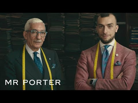 The Secrets Of A Well-Fitting Italian Suit