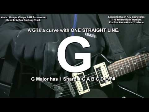 Learning & Remembering Major Key Signatures In 5 Minutes THE UNORTHODOX Guitar METHOD