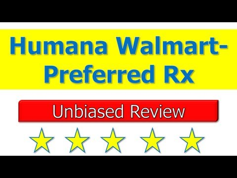 Humana Walmart-Preferred Rx - Is a Good Part D Plan? from YouTube · Duration:  2 minutes 19 seconds