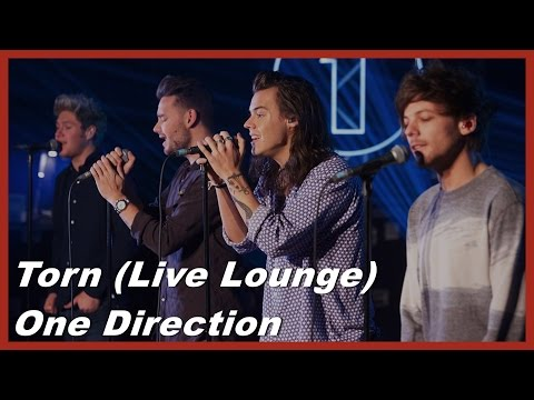 Torn (Live Lounge) - One Direction - Lyrics