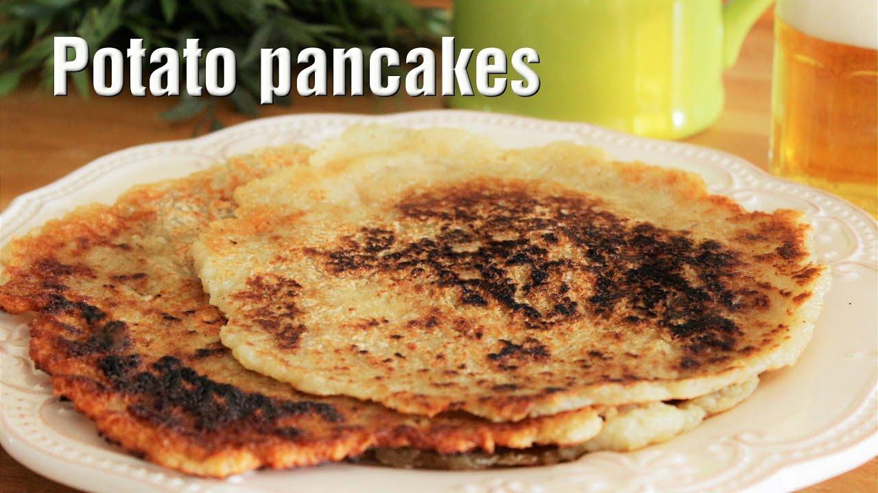 how to make easy potato pancakes