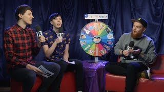 Dan and Phil's Wheel of Wonder with Jack Garratt I The BRIT Awards 2016