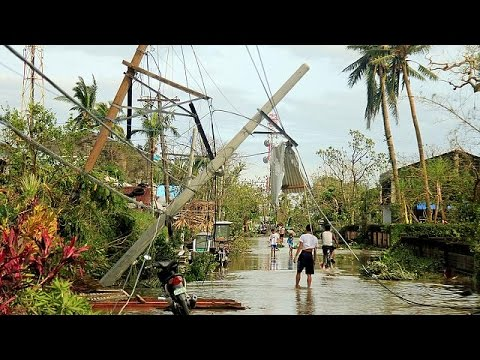 At least six killed in Philippines typhoon