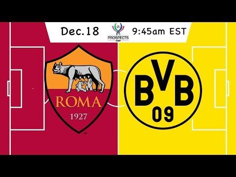 Prospects Cup: AS Roma vs. Borussia Dortmund