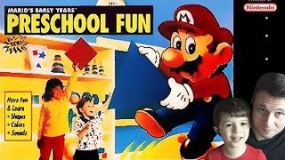 Mario's Early Years - Preschool Fun - SNES - Gameplay Comentado em Português
