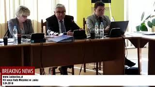 VIII sesja Rady Miejskiej w Łasku