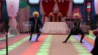 """Горский танец от  шоу группы """"Nellidance"""" и ансамбля """"Абшерон"""""""