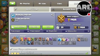 clash of clansWATCH UR BASE!!see ur base by sending bur id.PART-2
