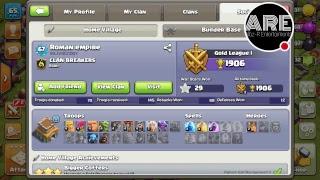 clash of clansWATCH UR BASE!!see ur base by sending bur id.PART-2