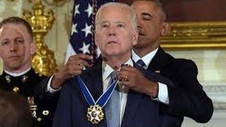 Full: Joe Biden Presidential Medal of Freedom Speech 1/12/2017