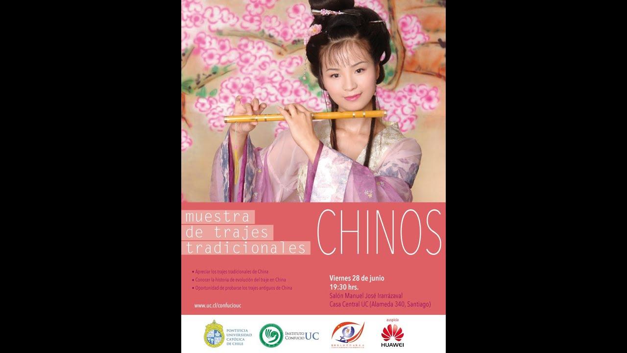 Muestra de Trajes Tradicionales Chinos - YouTube