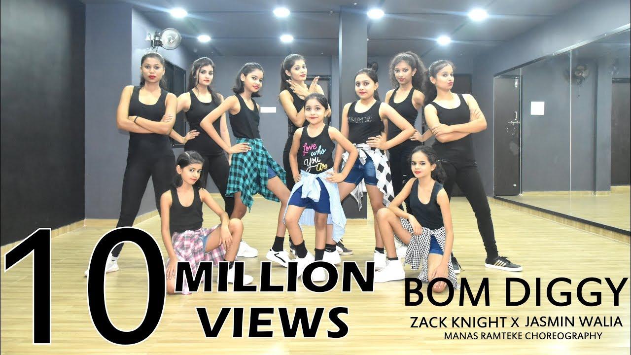 Bom Diggy | Zack Knight | Jasmin Walia | Manas Ramteke Choreography | SPARTANZzz Dance Academy #1