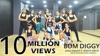 Gambar cover Bom Diggy | Zack Knight | Jasmin Walia | Manas Ramteke Choreography | SPARTANZzz Dance Academy