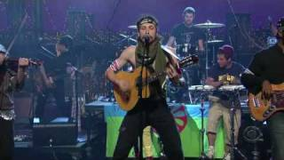 Gogol Bordello - Wonderlust King (on David Letterman)