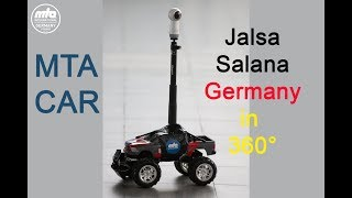 Jalsa Salana Germany 2018 | MTA Car on the road in 360°