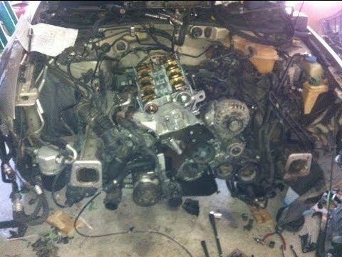 Rebuilding A Vw Passat 1 8t Engine Taking The Front Off