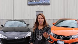 2015 Honda Civic Si Vs. 2015 Scion FRS © | Dyno Run