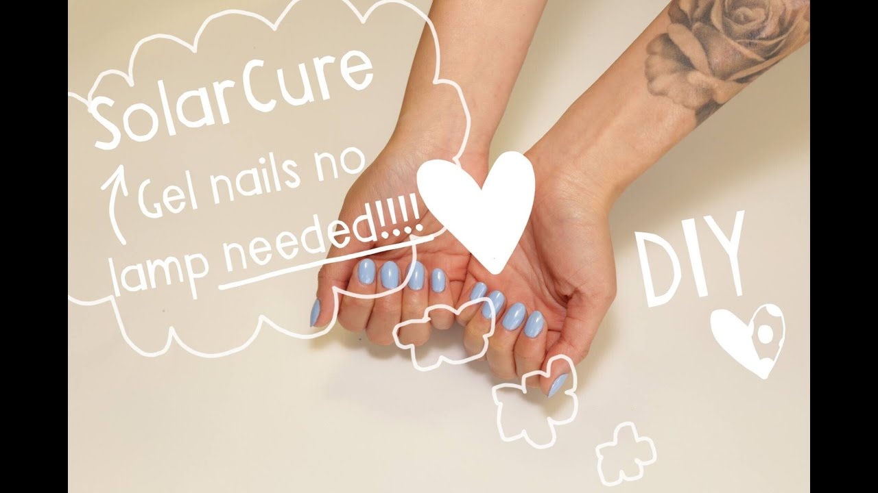Gel Nails with No Lamps Needed! Bio Seaweed Gel SolarCure Technology ...