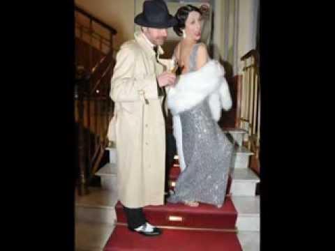 Adriana Russo e Antonello De Pierro alla prima di Burlesque al Bagaglino di Roma