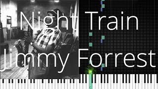 🎹 Night Train, Jimmy Forrest, Synthesia Piano Tutorial