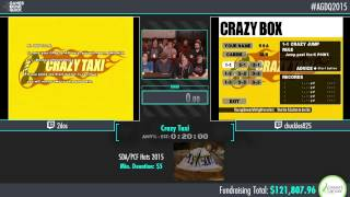 Awesome Games Done Quick 2015 - Part 19 - Crazy Taxi by 2dos and chuckles825
