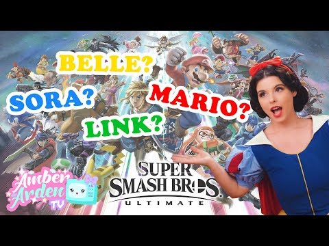 ALL SUPER SMASH BROS. ULTIMATE CHARACTERS GUESSED | AATV Ep.004