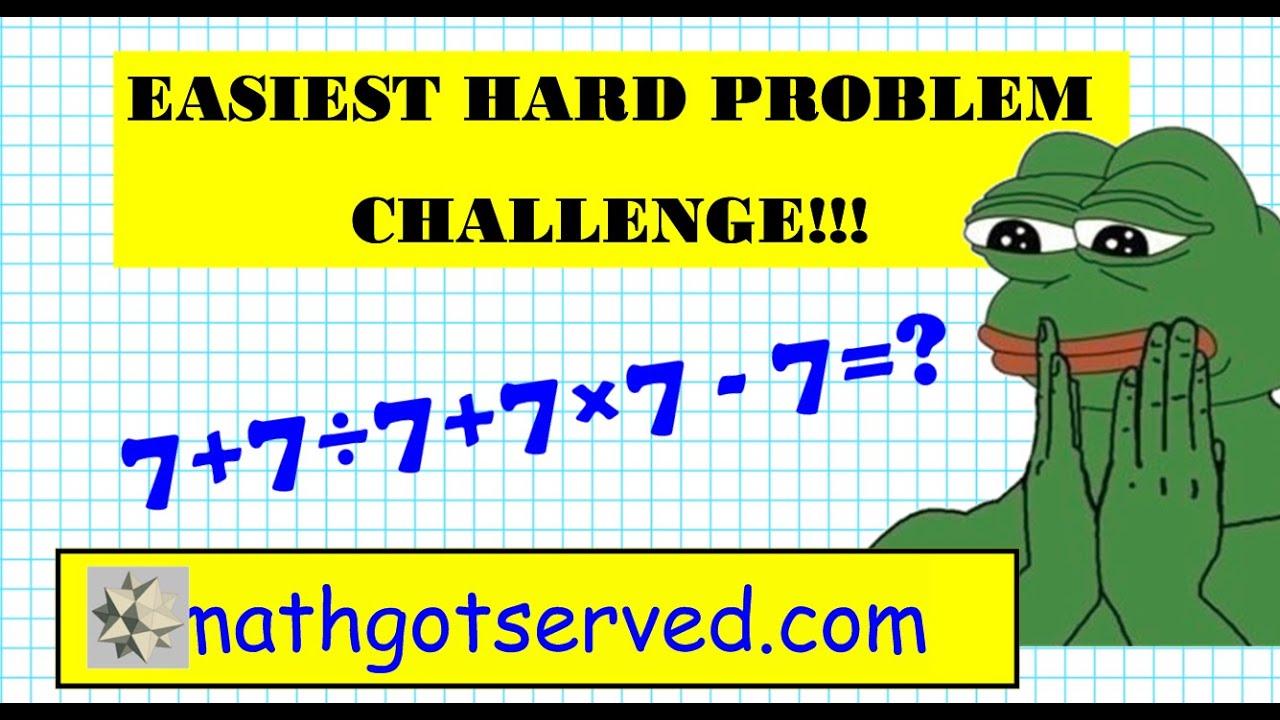 Easiest Math Problem Ever | galleryhip.com - The Hippest Galleries!