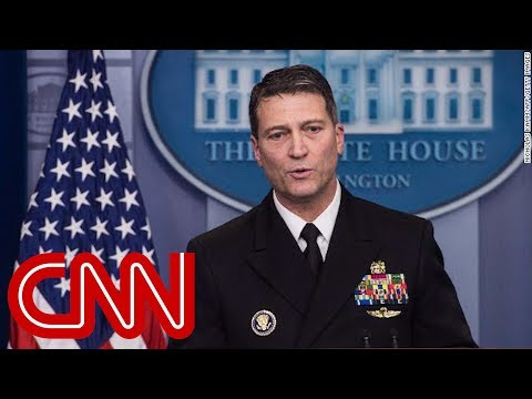 Whistleblowers spoke to lawmak ronny jackson