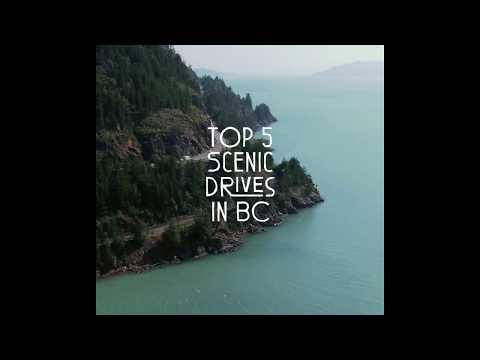 Top 5 Scenic Drives In British Columbia