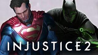INJUSTICE 2 CAPÍTULO 11 - SUPER HOMEM E BATMAN DUBLADO EM PT BR