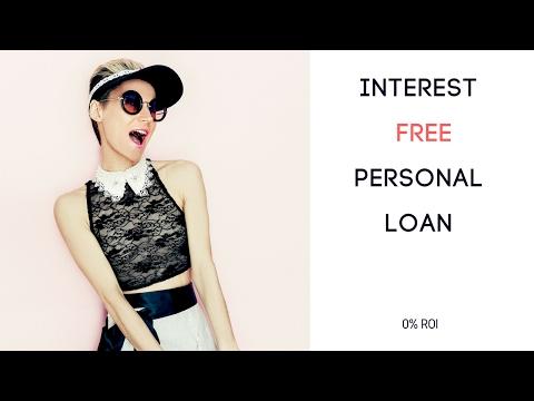 Interest Free personal loan
