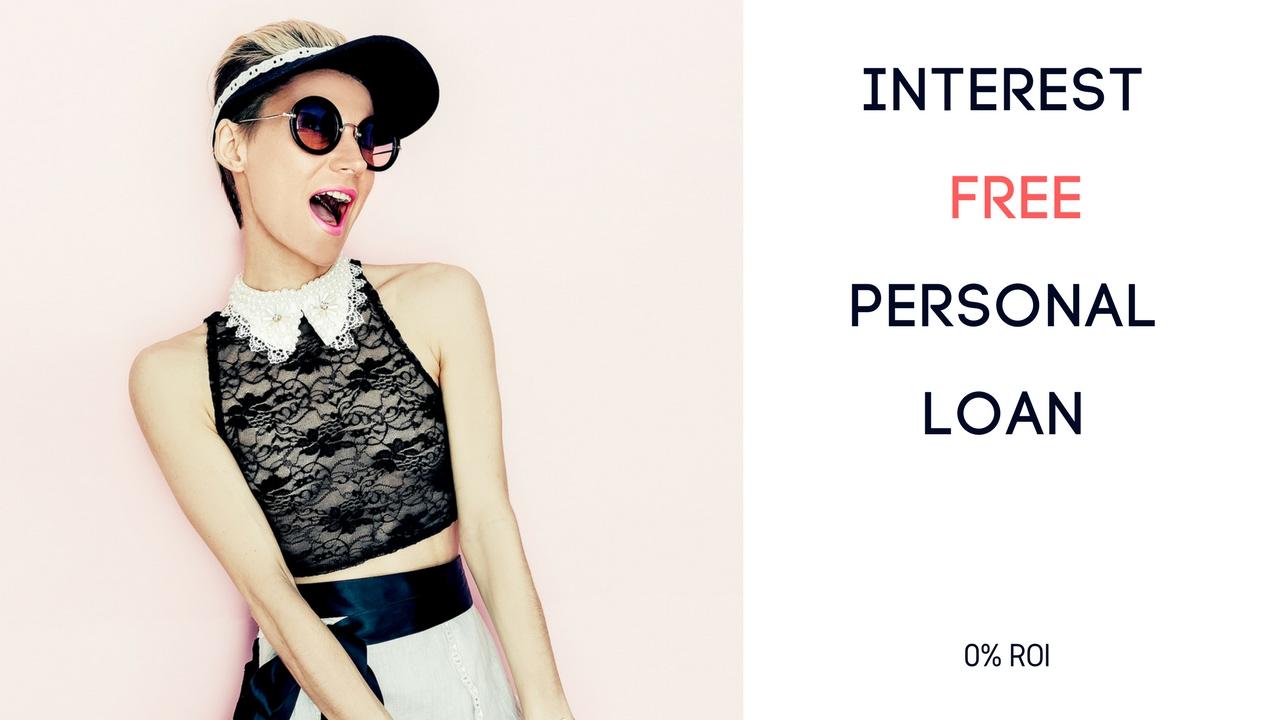 Interest Free personal loan - YouTube