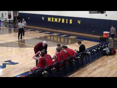 MEMPHIS BOYS BASKETBALL Vs NEW LIFE CHRISTIAN (12-13-2019)