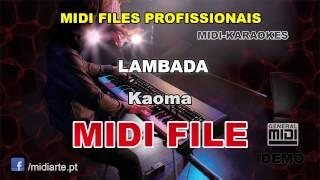♬ Midi file  - LAMBADA - Kaoma