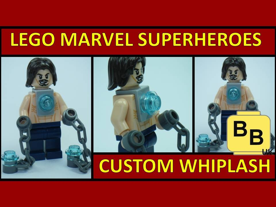 LEGO MARVEL SUPERHEROES GAME CUSTOM IRONMAN WHIPLASH ...