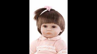 Обложка на видео о Кукла Npk Bebe Reborn Menina С Aliexpress.
