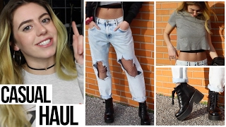 CASUAL NIGHT OUT STYLE from FOREVER 21 - Outfit Haul // Pretty Girl Flocco | HISSYFIT