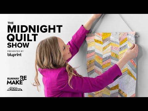 Sneak Peek: Angela Walters Makes Quilted Wall-Hanging on Bluprint's RUNWAY REMAKE
