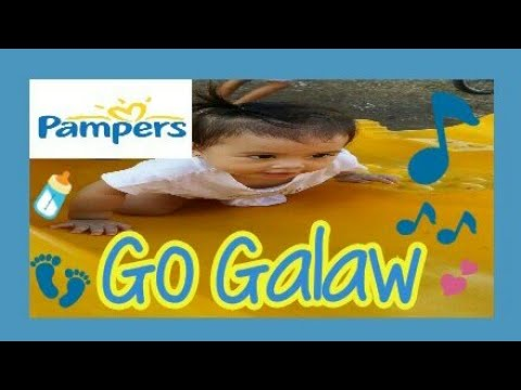 Pampers Go Galaw By Eya | Active, Happy Baby