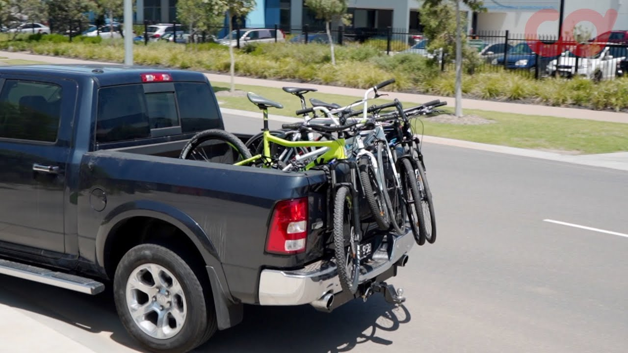 xxf p29 m cyclingdeal tailgate pad mtb bicycle rack cover pickup truck bed 54 w 5 bikes