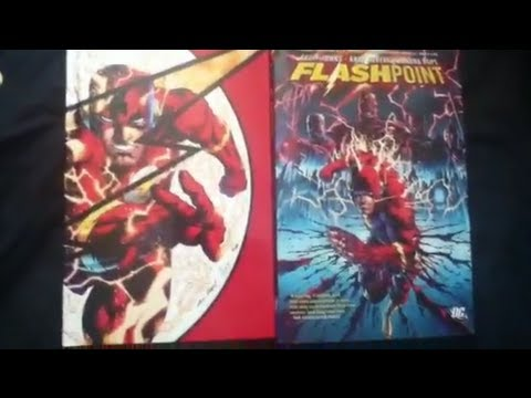I won a giveaway! Unboxing of DC Comics: FLASHPOINT!