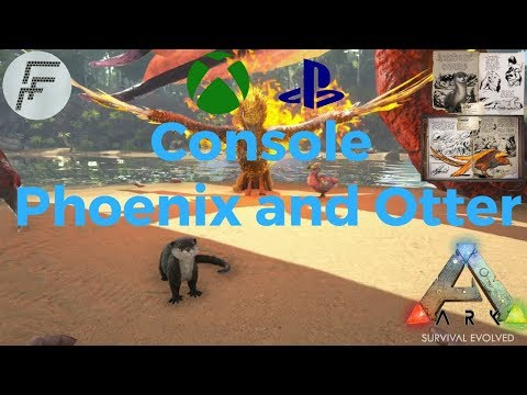 ARK: Survival Evolved How to spawn Phoenix and Otter ON CONSOLE!!!