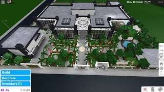 Tropical Mansion Build Teaser - France Bloxburg Roblox